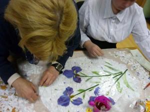 Занятия по витражу и мозаике