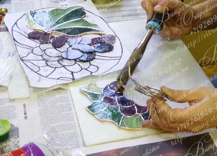 Курсы по витражам и мозаике