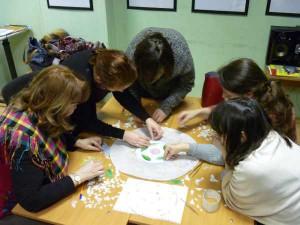 Курсы по витражу и занятия по мозаике