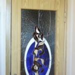 Витраж в двери