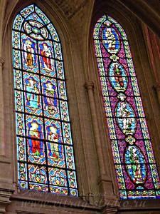 Витражи в L'église Saint-Germain-l'Auxerrois, Париж